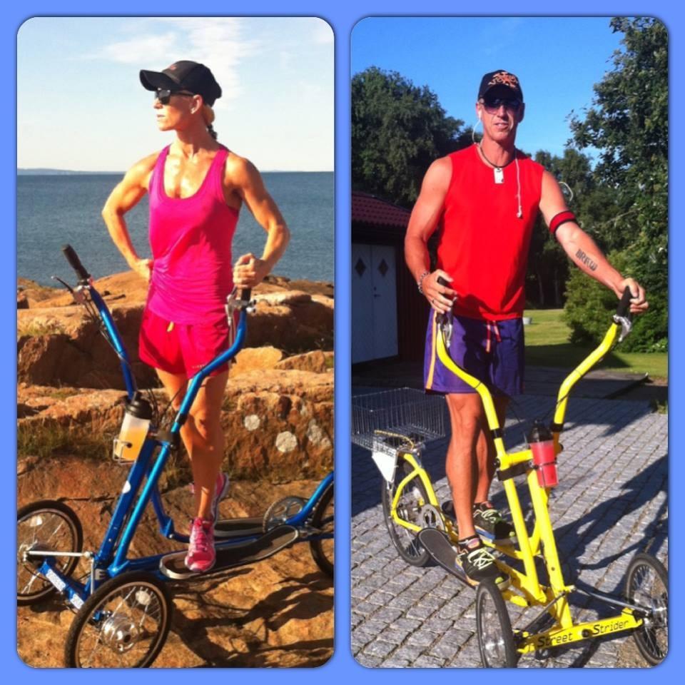 Malin och Patrik Braw - Team Sweden - Streetstrider