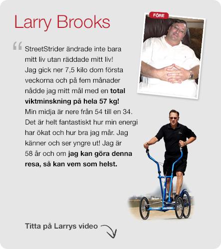 Vi älskar StreetStrider - Larry Brooks