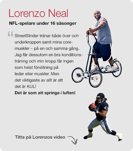 Vi älskar StreetStrider - Lorenzo Neal