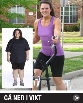 gå ner i vikt med crosstrainer