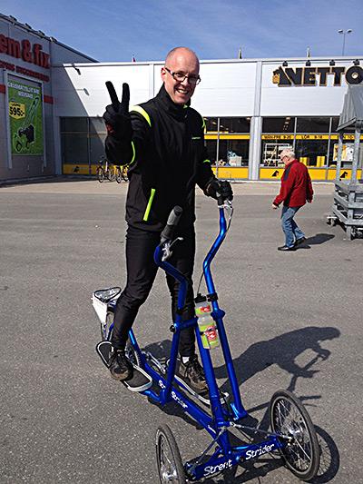 Benny Martinsson - Team Sweden - Streetstrider