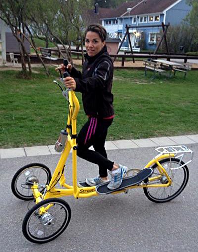 Camilla Rehn - Team Sweden - Streetstrider