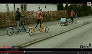 Streetstrider och cykelvagn